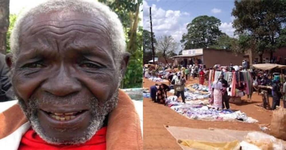 Peter Oyuka left home 47 years ago.