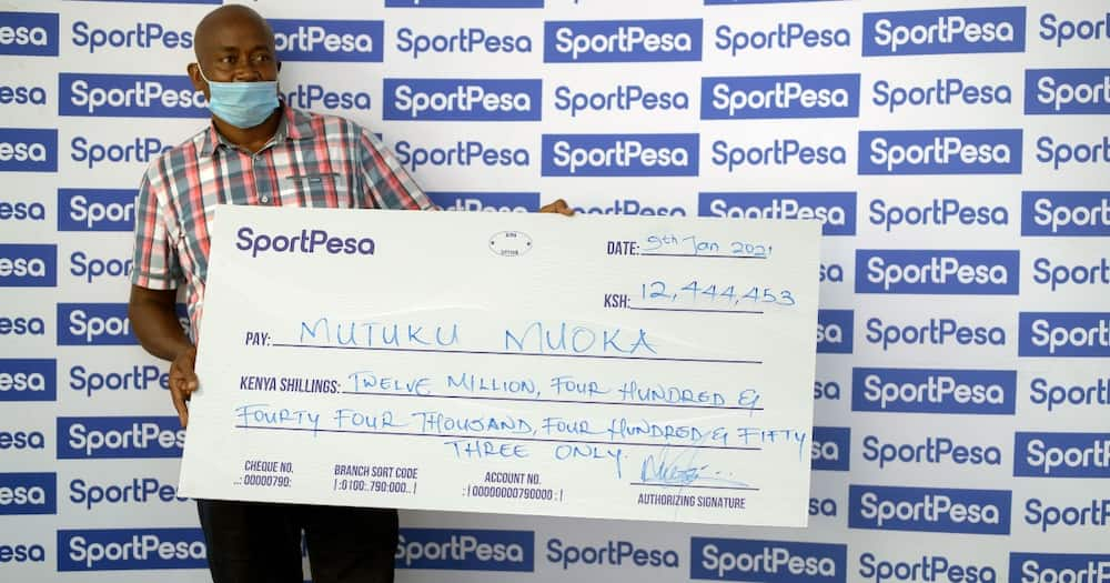 SportPesa unveils KSh 12 million Jackpot winner 2 months after resuming business