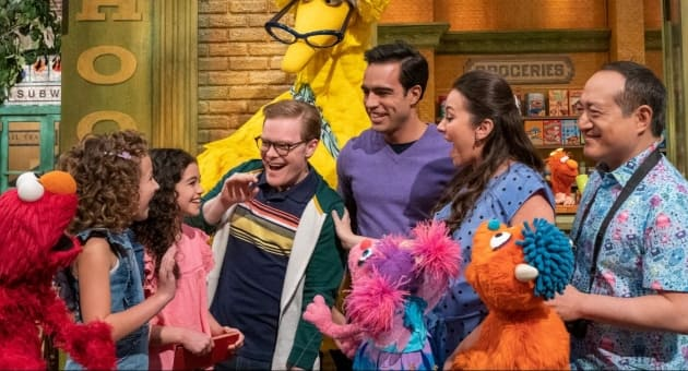 Kids' Show Sesame Street Features 2 Gay Dads for 1st Time in 51 Years