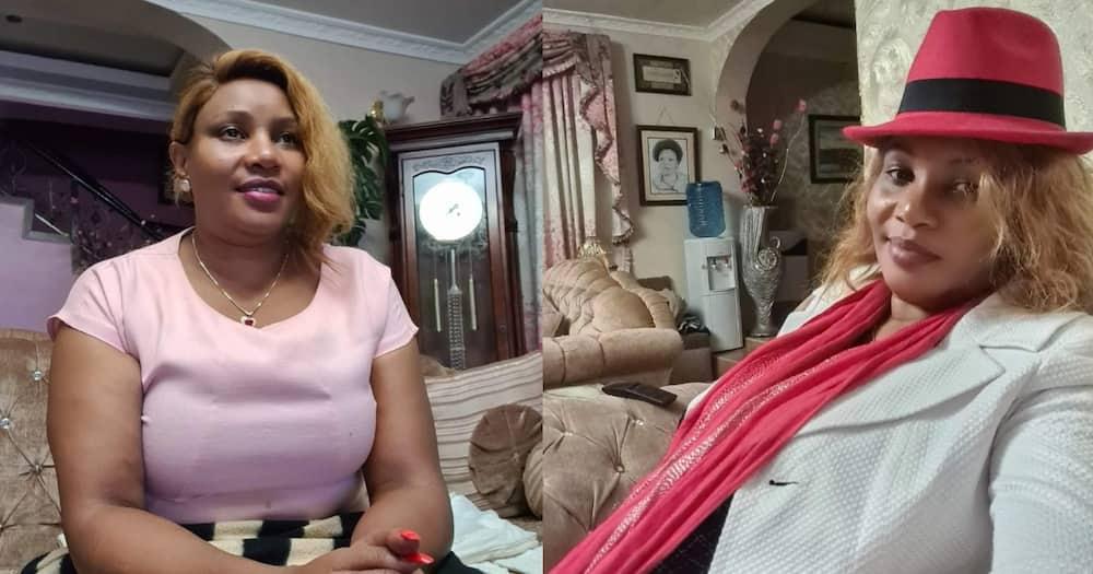 Kikuyu Singer Loise Kim has shown off her living room.