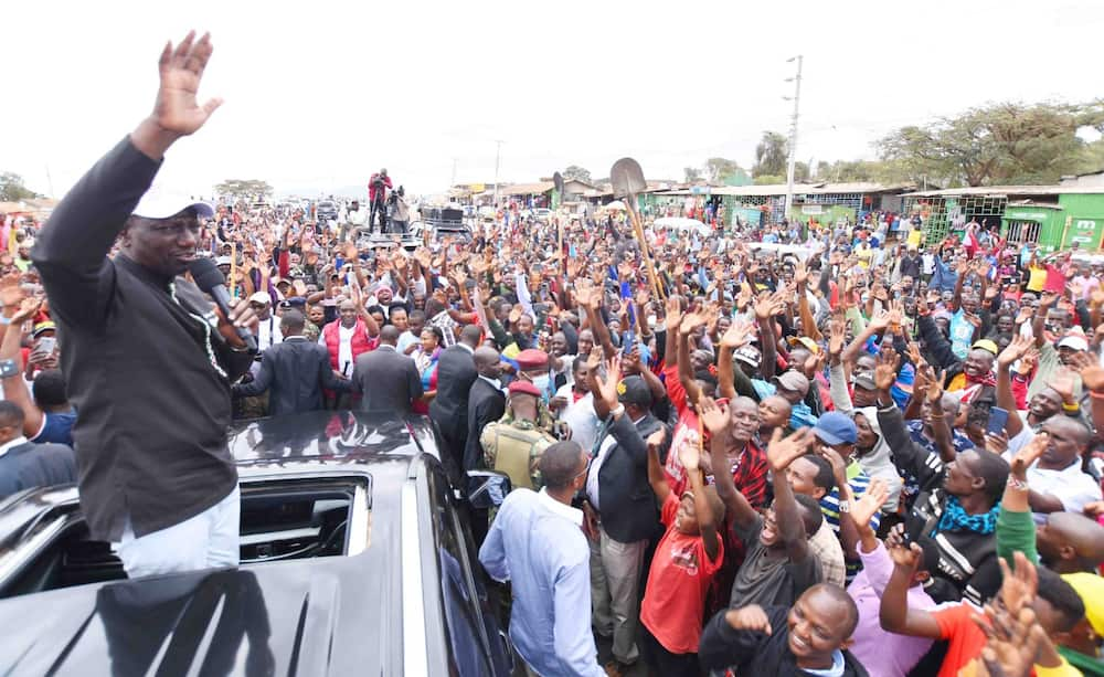 Deputy President William Ruto said that the discussions about the positions were less important than empowering the hustlers. Photo: William Ruto.