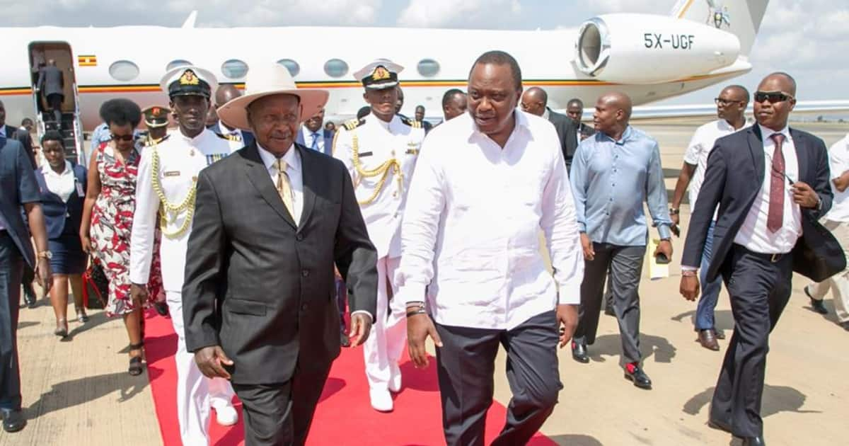 Museveni cleverly disagrees with Uhuru on how long his state visit should last