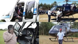 List of Politicians and Businessmen Who Own Helicopters in Kenya, Cost of Hiring One