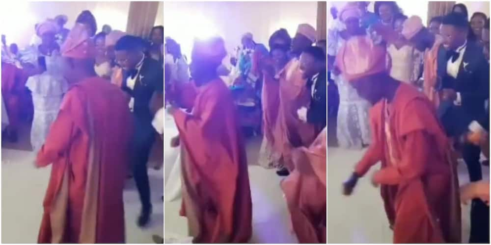 """Bride's Father """"Scatters"""" Dance Floor with Amazing Dance Moves, His Legwork Thrills Wedding Guests"""