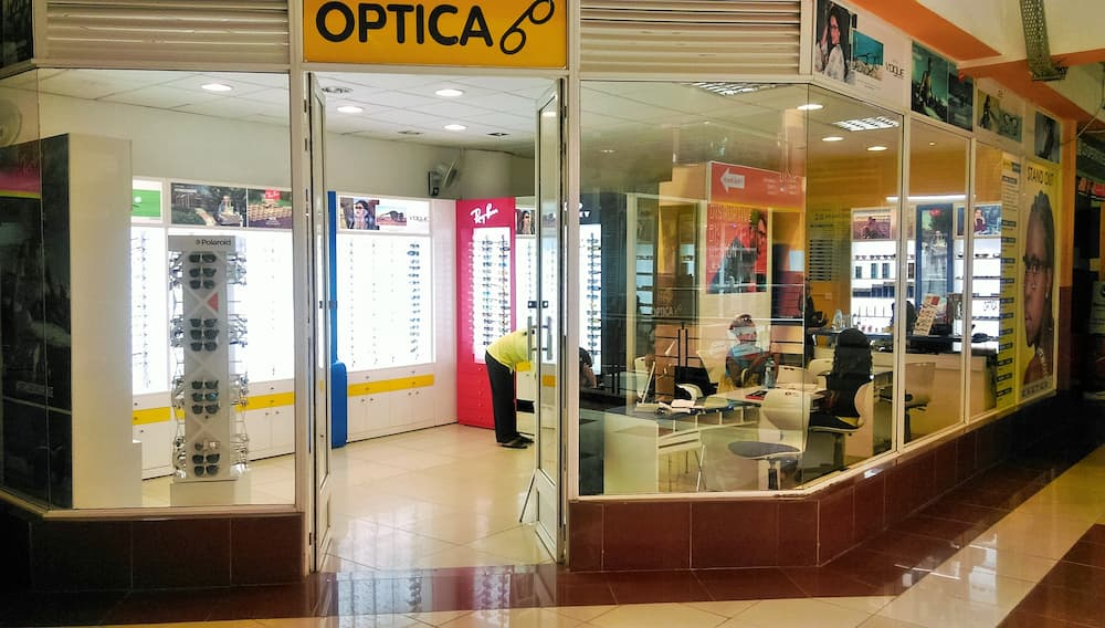 Optica Kenya branches and contacts