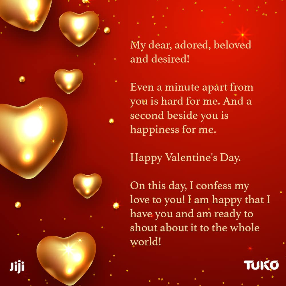 St. Valentine's Day messages for your sweetheart