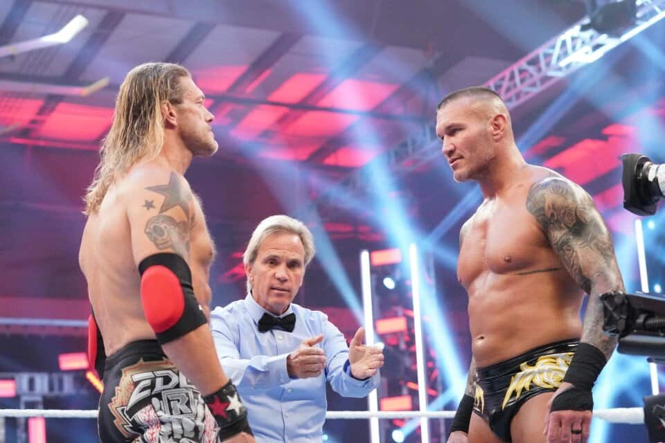 WWE's Edge suffers serious injury during 'greatest wrestling match ever' with Randy Orton