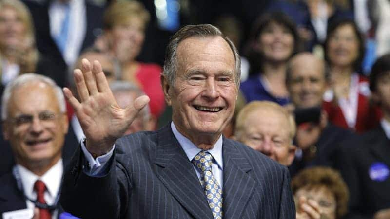 10 things you didn't know about late George H.W. Bush as Trump mourns his death