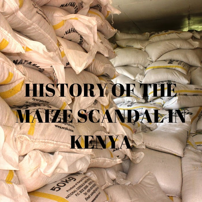 maize scandal in kenya