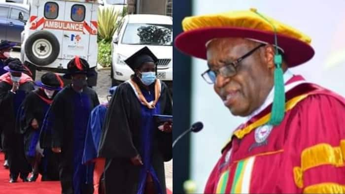 Laban Ayiro: Former Moi University VC Behind Daystar's First Ever Inaugural Public Lecture