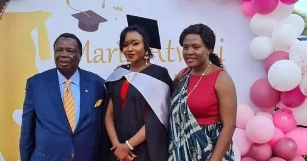 Atwoli's daughter shares stunning TBT photo of wealthy dad in his youthful days