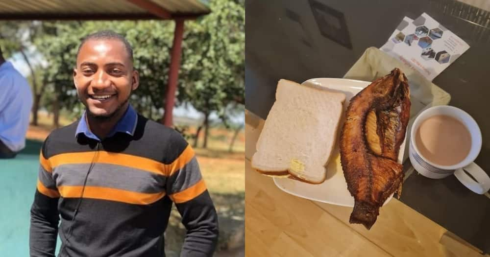 """""""How's the Weather in Galilee"""": Man's Meal Leaves the Net In Stitches"""