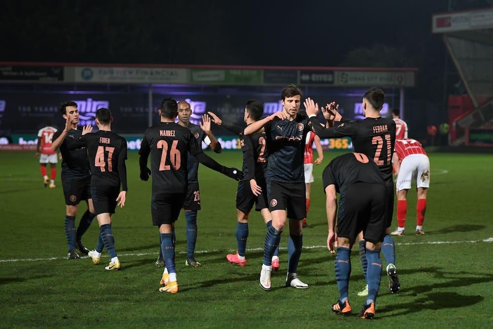 FA Cup: Man City score late in dramatic 2-1 win over Cheltenham