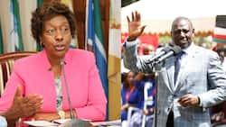 """Charity Ngilu Blasts Ruto for Frustrating Uhuru: """"Badala ya Kusaidia Rais, Kazi ni Kutangatanga"""""""