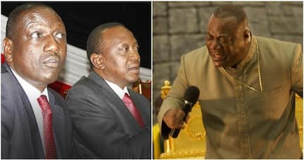Ghanaian preacher claims DP Ruto wanted to challenge Uhuru in 2017 election, he stopped him