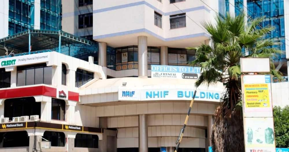NHIF building in Upper Hill, Nairobi. Photo: Business Daily.
