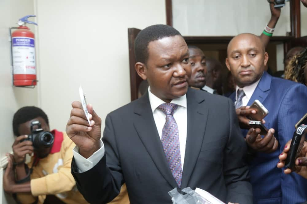 Alfred Mutua recenly broke up with his wife Lilian.