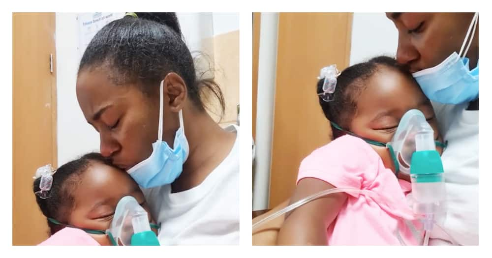 """Bahati's Daughter Hospitalized: """"The Last 4 Nights Were One of The Hardest"""""""