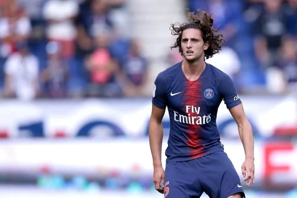 Liverpool in hot pursuit of want-away PSG star Adrien Rabiot