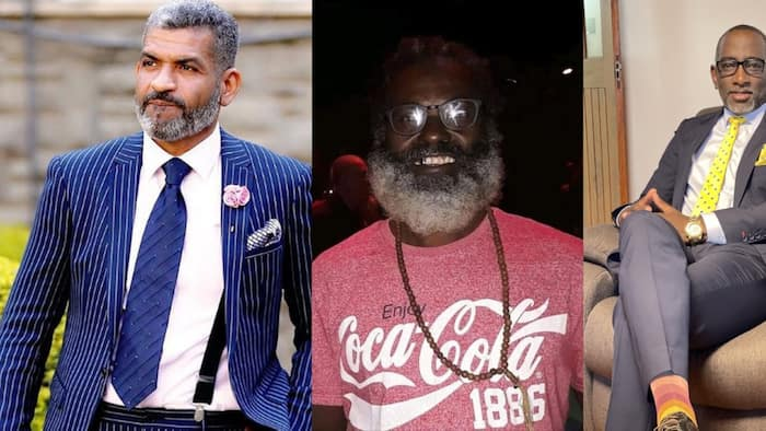 7 Delectable Photos of Kenyan Male Silver Foxes Who Look Nothing Near 40 Years