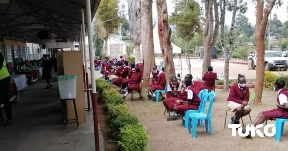 Moi Kapsoward Girls. Photo: Mercy Chebet/Tuko.co.ke.