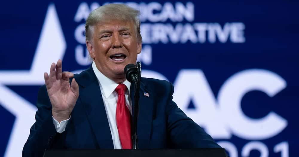 Trump believes in QAnon theory that he'll back in office this August