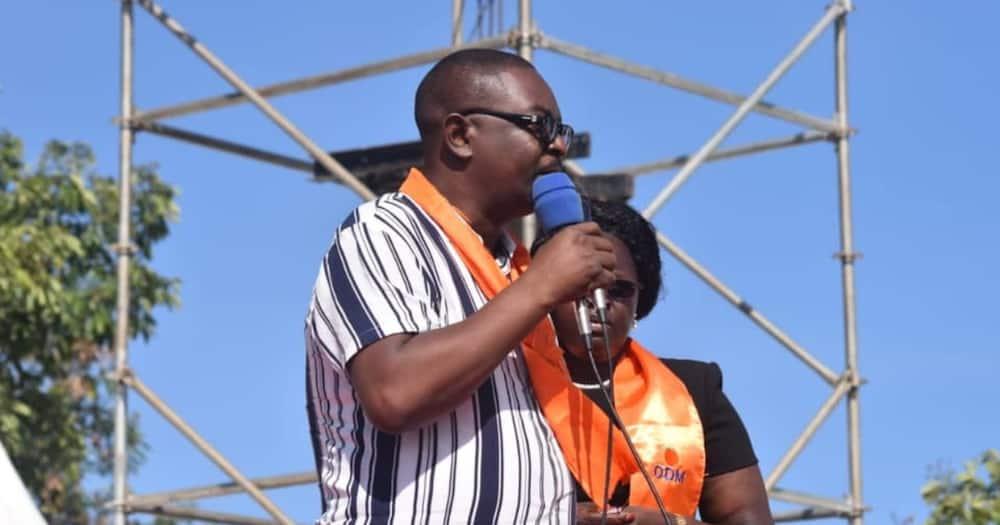 Joseph Mboya Nyamuthe hails from Rangwe in Homa Bay county. Photo: Joseph Mboya Nyamuthe.
