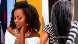 Joyce Omondi flaunts long, silky hair as she teaches ladies how to grow their mane