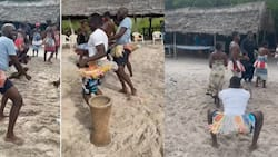 Larry Madowo, Trevor Ombija Shake What Their Mamas Gave Them During Coast Vacay