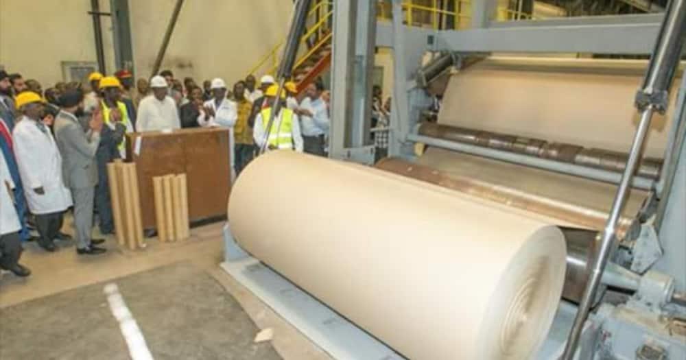 President Uhuru Kenyatta had promised the factory will be up and running.