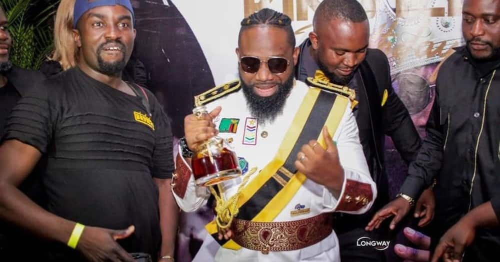 SDA Church members condemn rapper for wearing their Pathfinders uniform during his birthday party