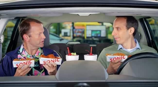 Sonic commercial actors