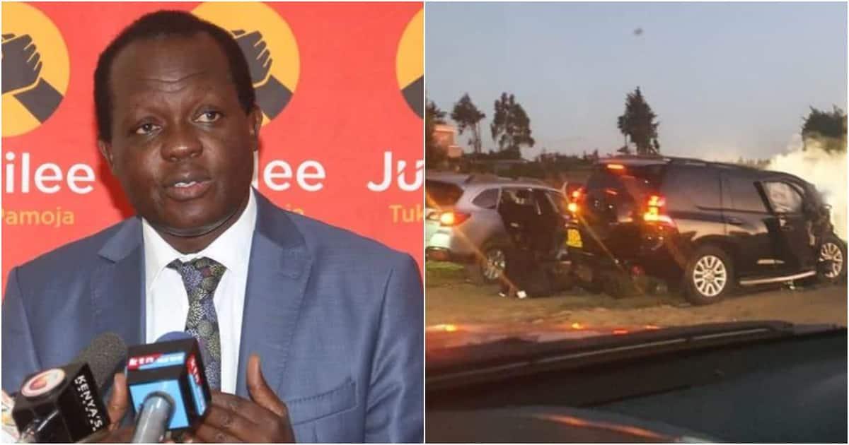 Raphael Tuju Atembea Kilomita 50 kwa Mara ya Kwanza Tangu Kuhusika Kwenye Ajali ▷ Kenya News