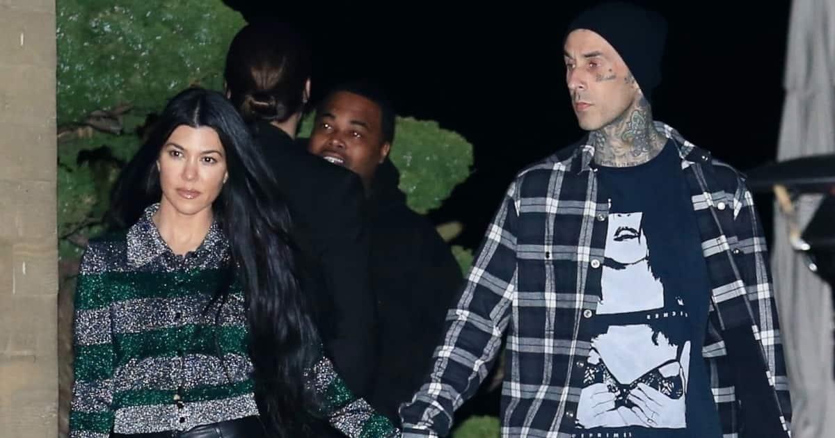 Kourtney Kardashian's Boyfriend Travis Barker Tattoos Her ...