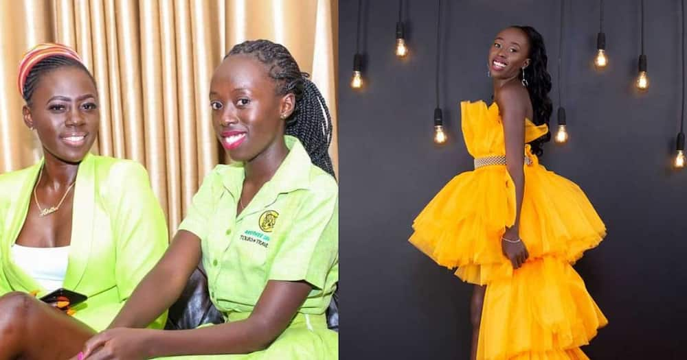 Akothee and her daughter Vesha