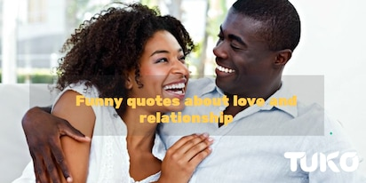 Witty love quotes to lighten his/her mood