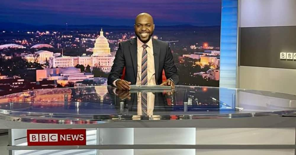 Larry Madowo makes debut as anchor on BBC World News America