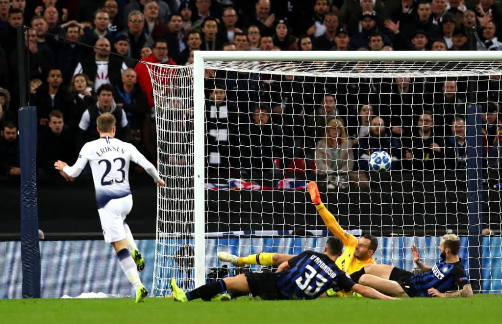 Tottenham defeat Inter Milan 1-0 at San Siro