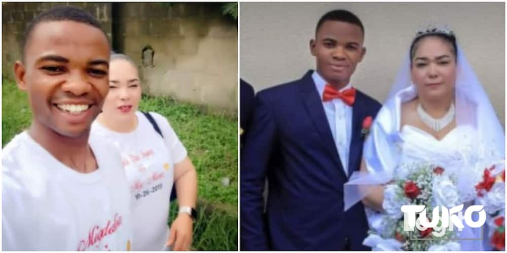 Nigerian man who married Oyinbo lady shares why he hasn't reunited with his wife in US