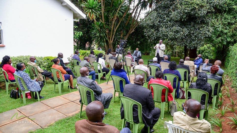Mudavadi afanya mkutano na viongozi kutoka Mlima Kenya