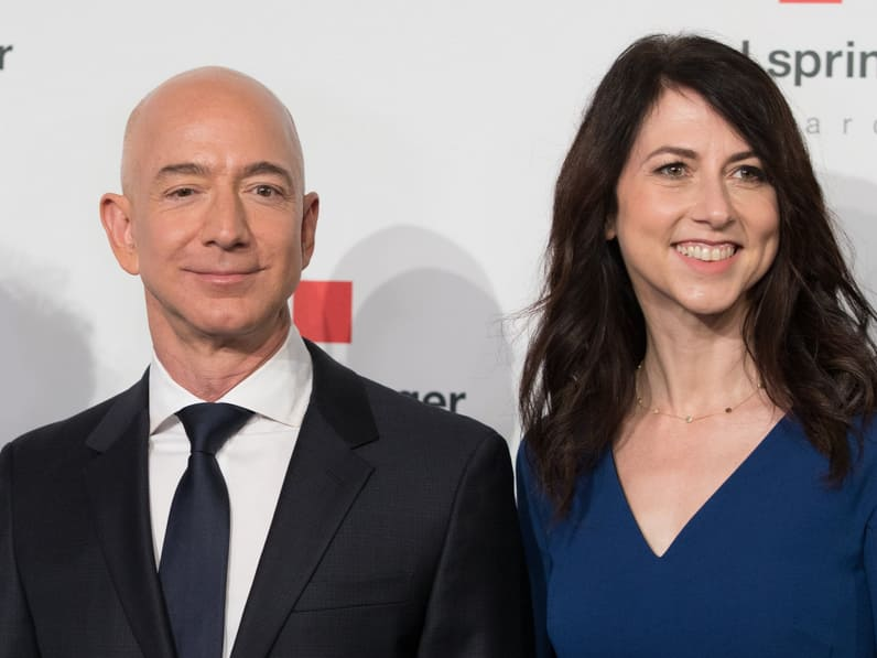 Jeff Bezos and wife MacKenzie splitting after 25 years