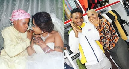 TZ video vixen Amber Rutty denies claims her husband is faking illness