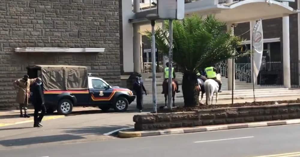 Ulinzi mkali wawekwa katika bunge la kaunti ya Nairobi