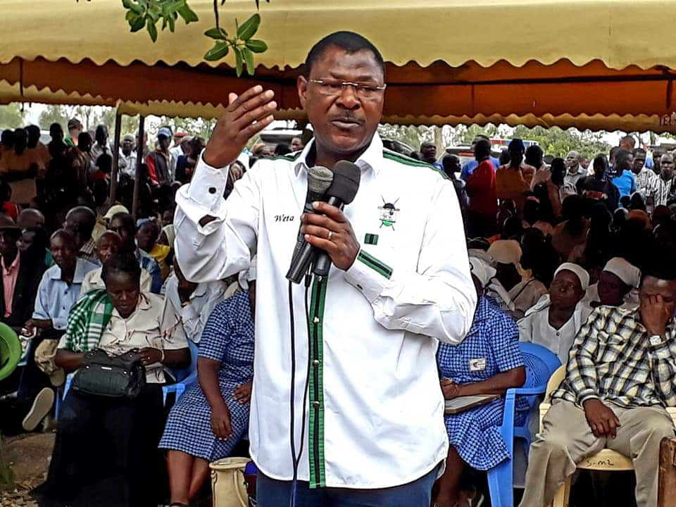 Registrar of political parties gazettes removal of Moses Wetang'ula as FORD Kenya party leader