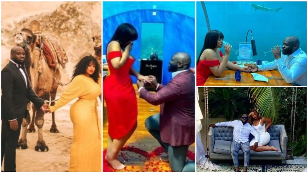 Man marries woman he met on Twitter, see photos of the beautiful places they went to enjoy themselves