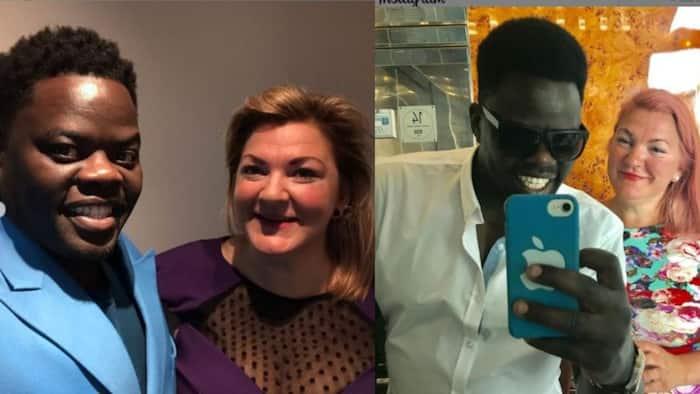 Love Wins: 7 Lovely Photos of Actor Ninja and Mzungu Wife