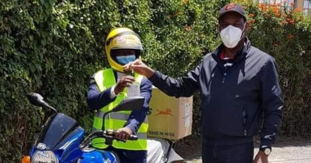 "Ezekiel Mutua Gifts Assistant Chief With Motorbike: ""Next It Will Be a 4×4 Machine"""