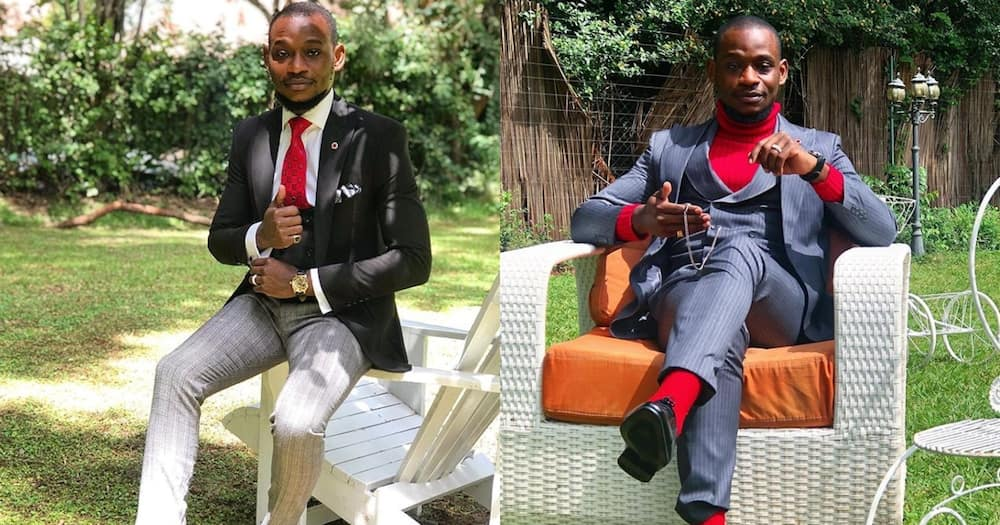 Maria actor Luwi says he suffered depression when lover burnt his suits, accused him of cheating