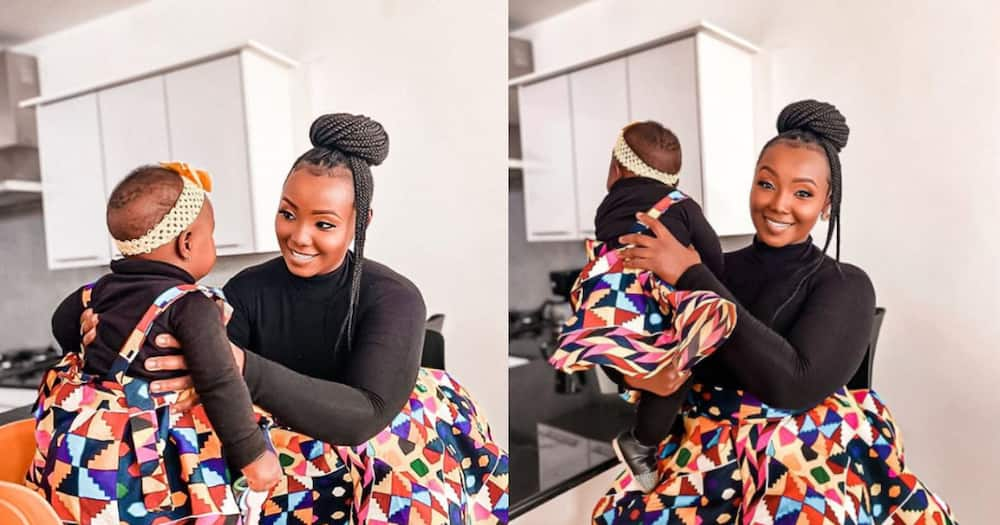 Kate actress, baby daughter stun in adorable matching mummy and me clothes