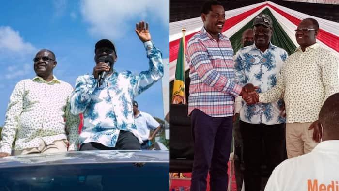 Raila Odinga Brokers Peace Between Kiraitu Murungi and Peter Munya After Months of Rivalry